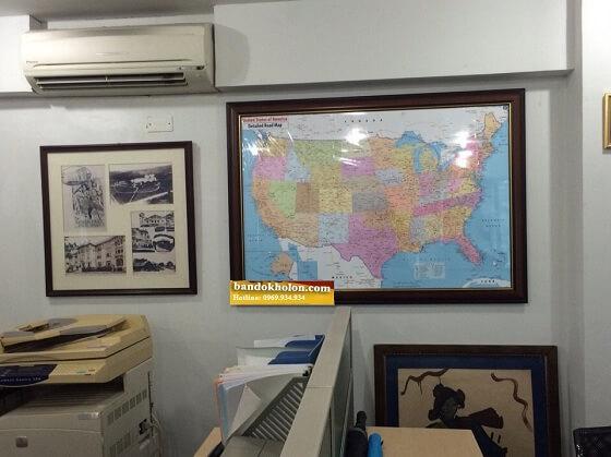 Mua bản đồ Nước Mỹ ở đâu