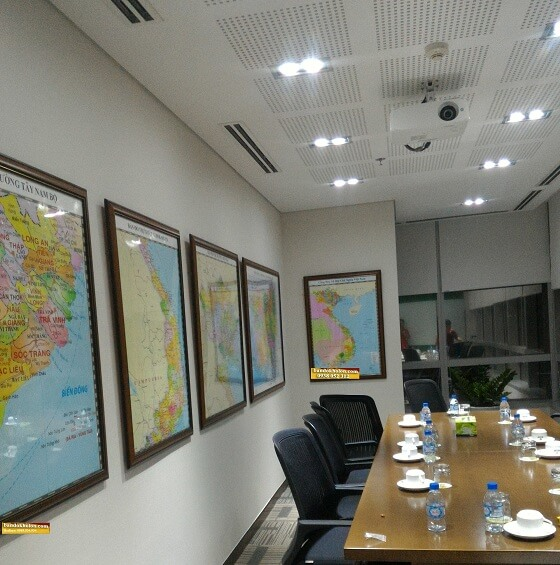 Đóng khung bản đồ Việt Nam khổ lớn