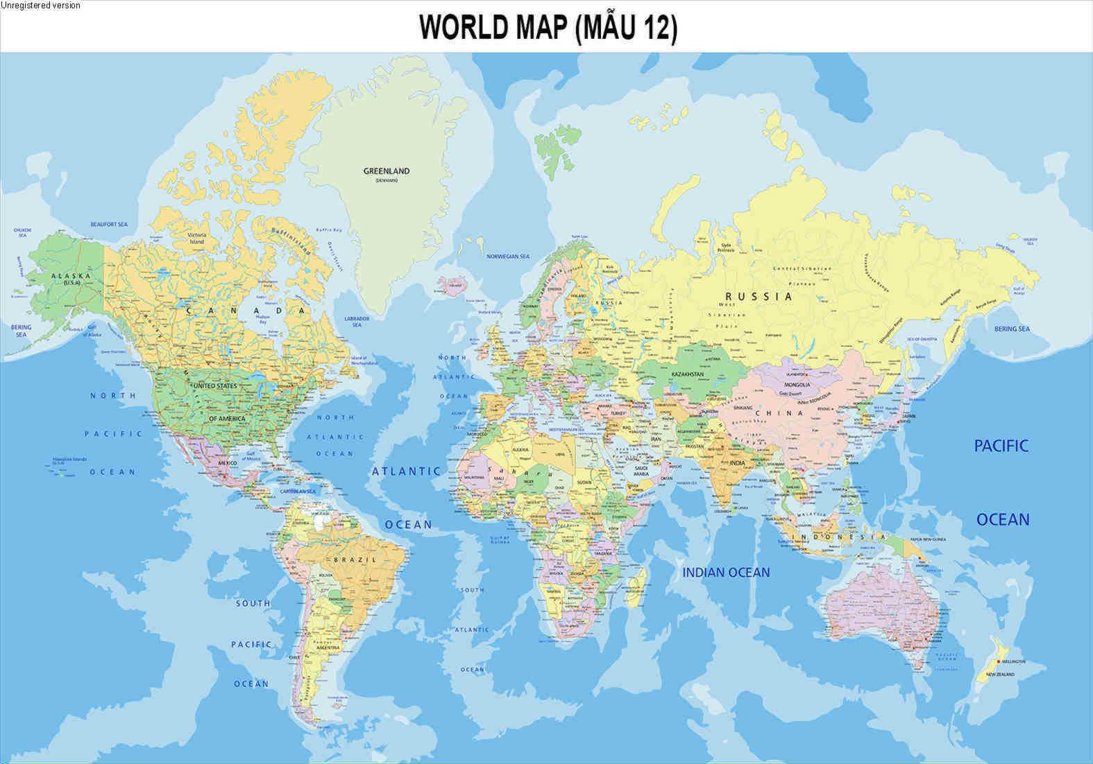 In bản đồ thế giới khổ lớn ở đâu