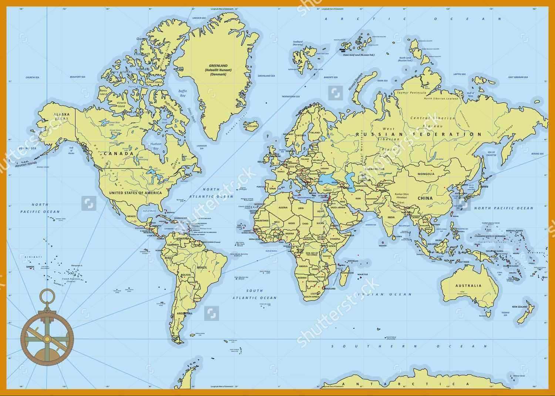 Bán bản đồ thế giới