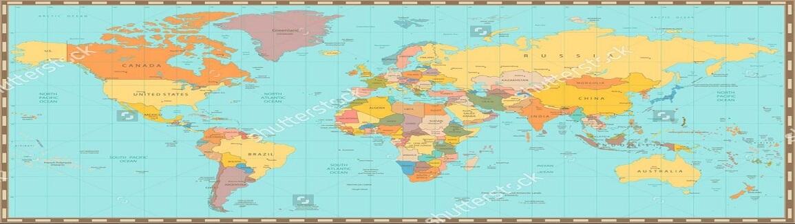 bán bản đồ thế giới khổ lớn mẫu 30
