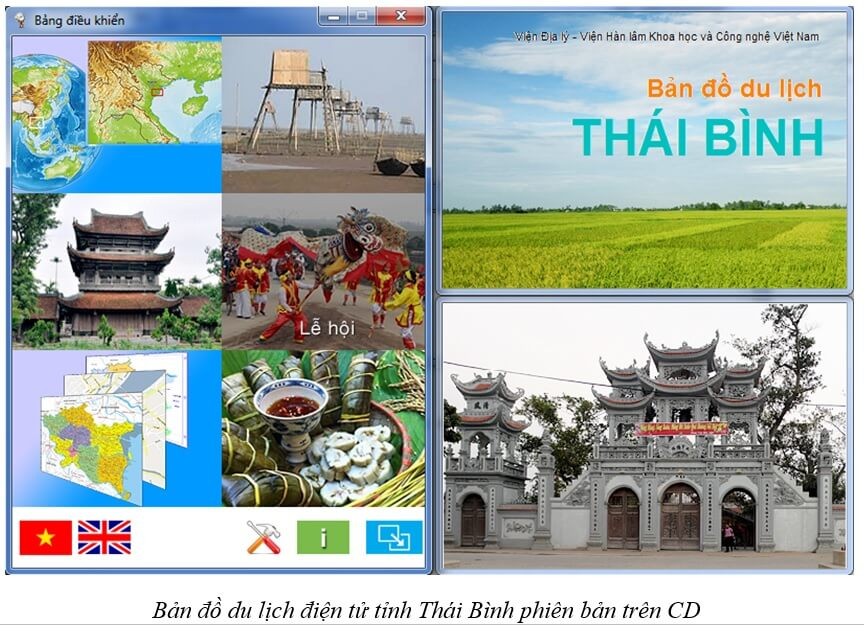 ban do du lich thai binh