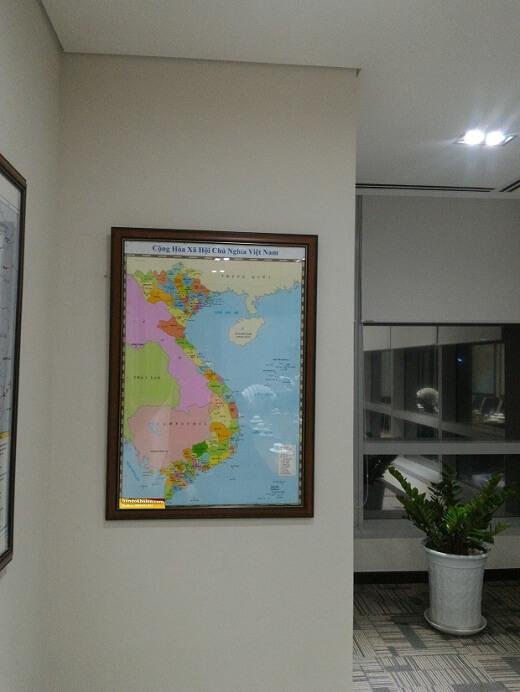 bán bản đồ việt nam quận 7