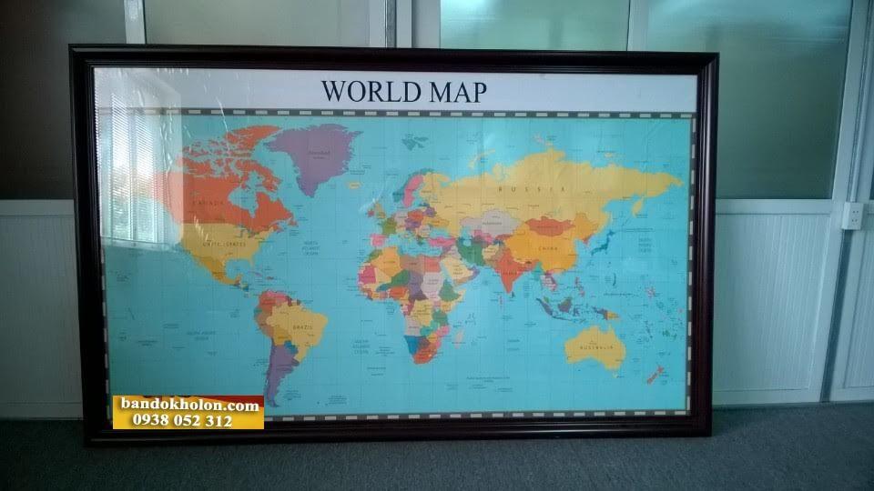 bán bản đồ thế giới quận tây hồ