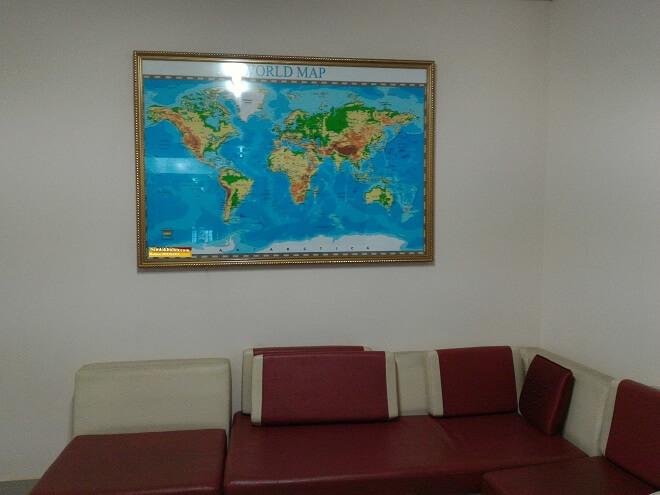 bán bản đồ thế giới cỡ lớn giá rẻ