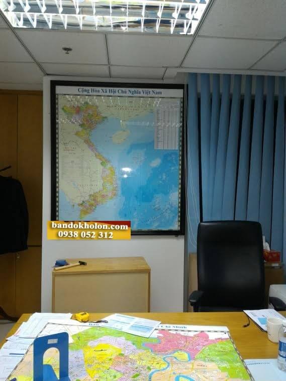bán bản đồ việt nam quận 5