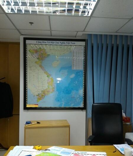 Mua bản đồ Việt Nam khổ lớn ở đâu