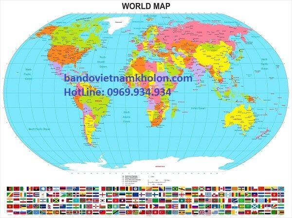 ban do the gioi world map