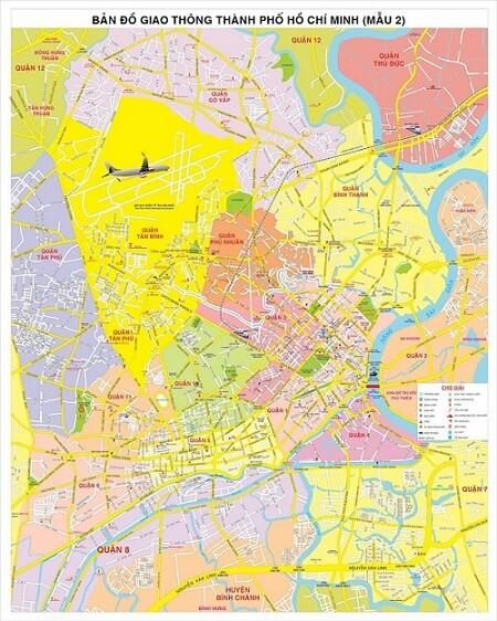 bản đồ TPHCM