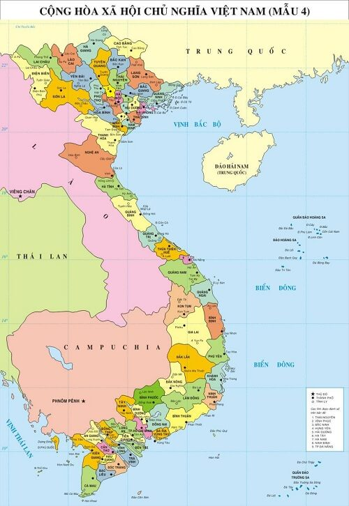 In bản đồ Việt Nam khổ lớn ở đâu