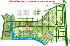 In bản đồ dự án Quận 2