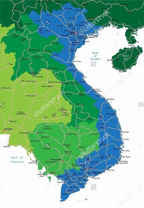 Mua bản đồ Việt Nam để du lịch