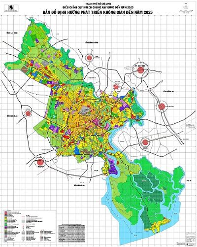 Đóng khung bản đồ Dự án