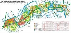 In bản đồ dự án Quận 7