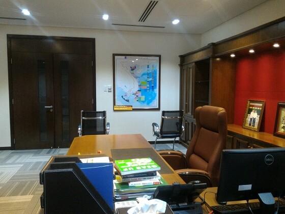 Thi công bản đồ Việt Nam tại TPHCM