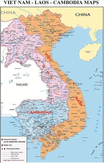 Hướng dẫn cách sử dụng bản đồ việt nam như một chuyên gia về địa lý