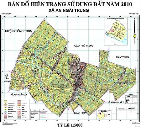 Bản đồ (map) – lập bản đồ GIS