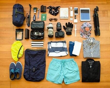 Những thứ cần thiết không thể thiếu khi đi du lịch