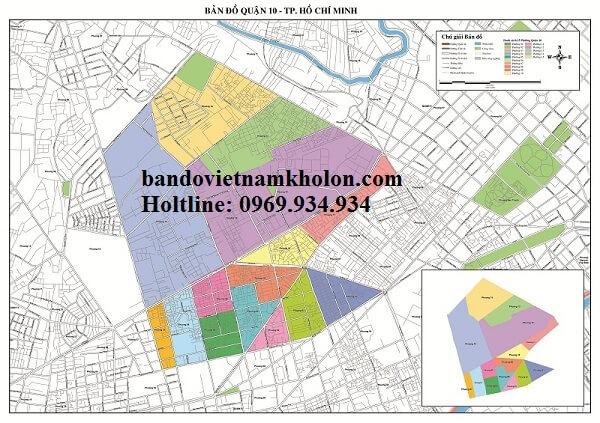 Bản Đồ Quận 10 – Thành Phồ Hồ Chí Minh