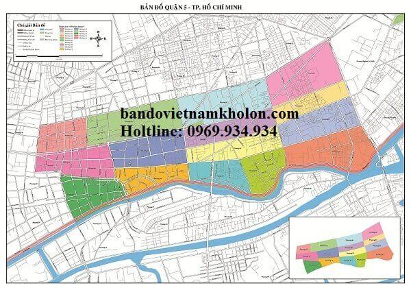 Bản Đồ Quận 5-Thành Phồ Hồ Chí Minh