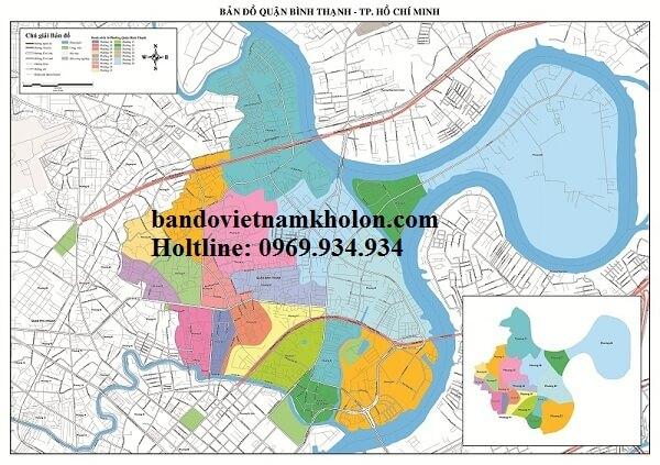Bản Đồ Quận Bình Thạnh-Thành Phồ Hồ Chí Minh