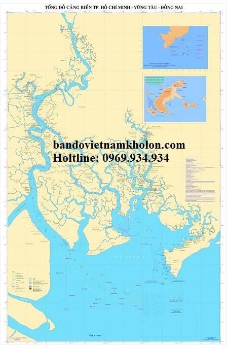 bản đồ cảng biển tphcm vũng tàu đồng nai