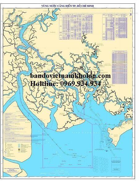 Bản Đồ Vùng Nước Cảng Biển TPHCM