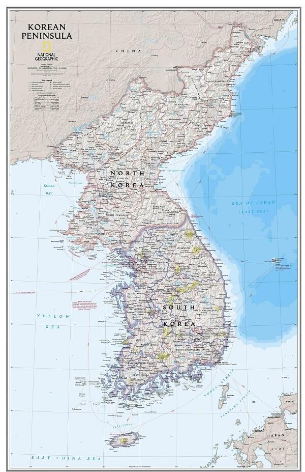 Cùng Bản Đồ Hàn Quốc Du Lịch Xứ Sở Kim Chi
