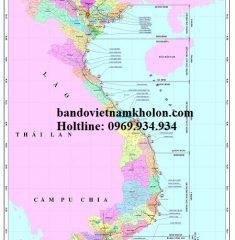 Bản Đồ Hệ Thống Cảng Biển Việt Nam