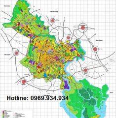 Bản đồ quy hoạch Thành phố Hồ Chí Minh đến năm 2025