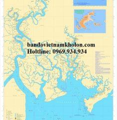 Bản Đồ Phân Bố Cảng Biển TPHCM Vũng Tàu Đồng Nai