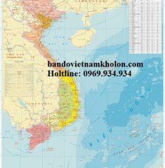 Bản Đồ Việt Nam mẫu 12