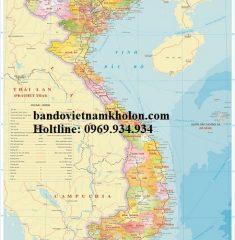 Bản Đồ Việt Nam Mẫu 13